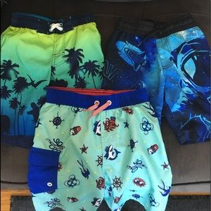 Boys Swim Trunks - Size S(6/7)
